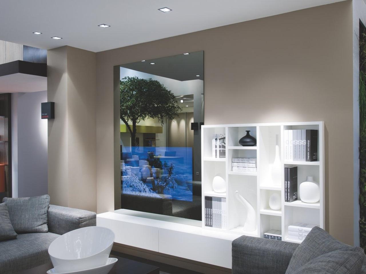 Meuble Tv Design Blanc Schmidt